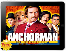 Anchorman The Legend of Ron Burgundy free mobile pokies