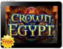 Crown of Egypt free mobile pokies