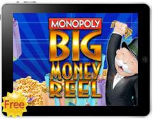Monopoly Big Money Wheel free mobile pokies