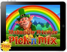 Rainbow Riches Pick n Mix free mobile pokies