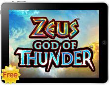 Zeus God of Thunder free mobile pokies