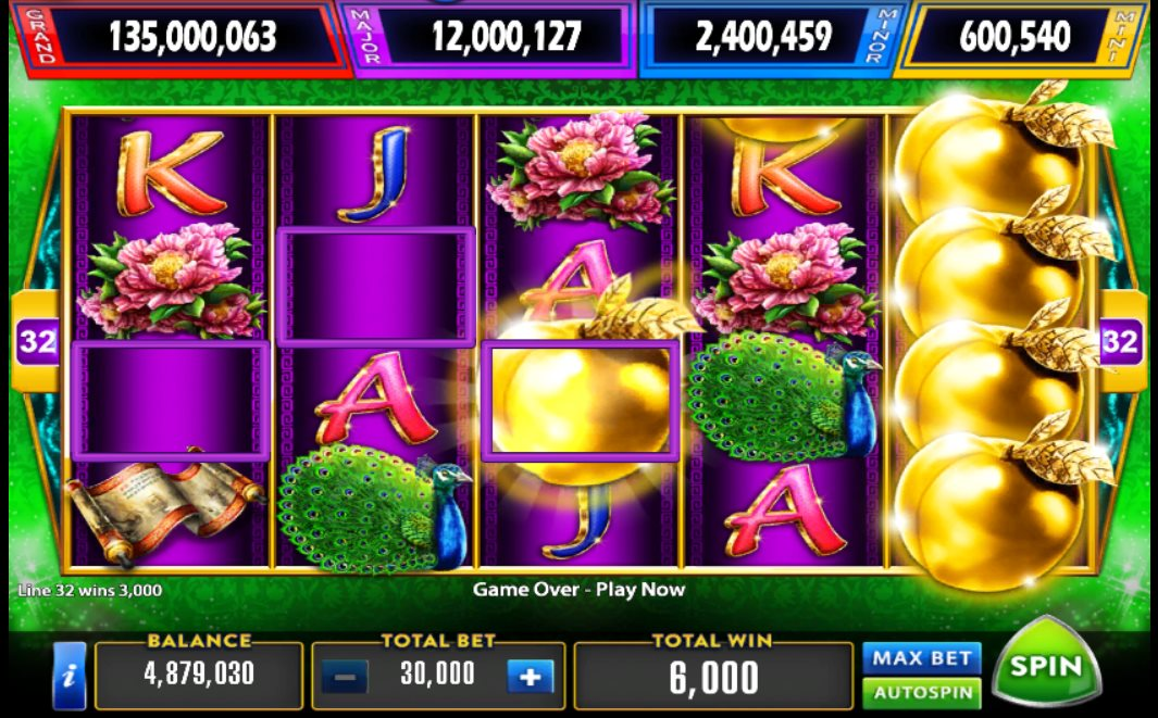 Aristocrat Golden Peach Jackpot Pokies Free or Real Play Guide