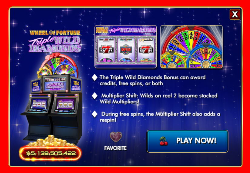 Wheel of Fortune Triple Wild Diamonds Free IGT Slot Guide