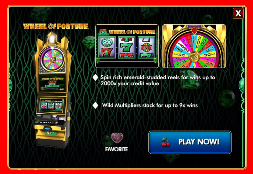 Wheel of Fortune Triple Double Emeralds Free Slot Guide