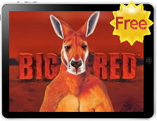 big red free slot