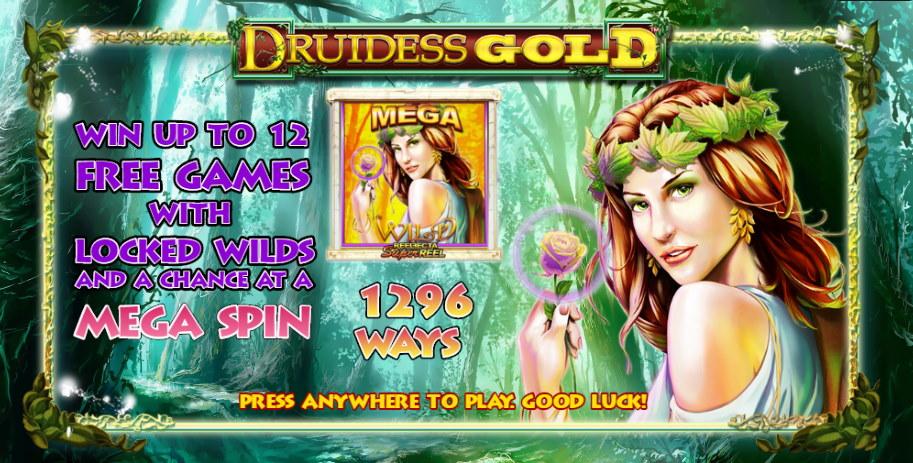 Druidess Gold Free Lightning Box Pokies Game Guide