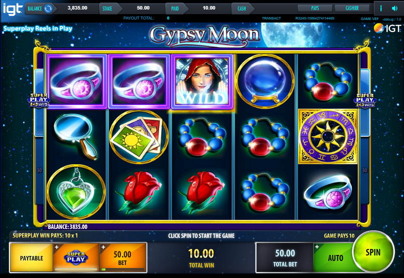 Gypsy Moon Free IGT Slot Game Guide