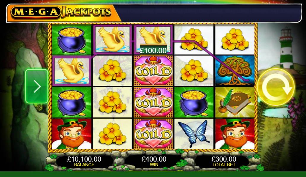 MegaJackpots Isle O' Plenty Free IGT Slot Game