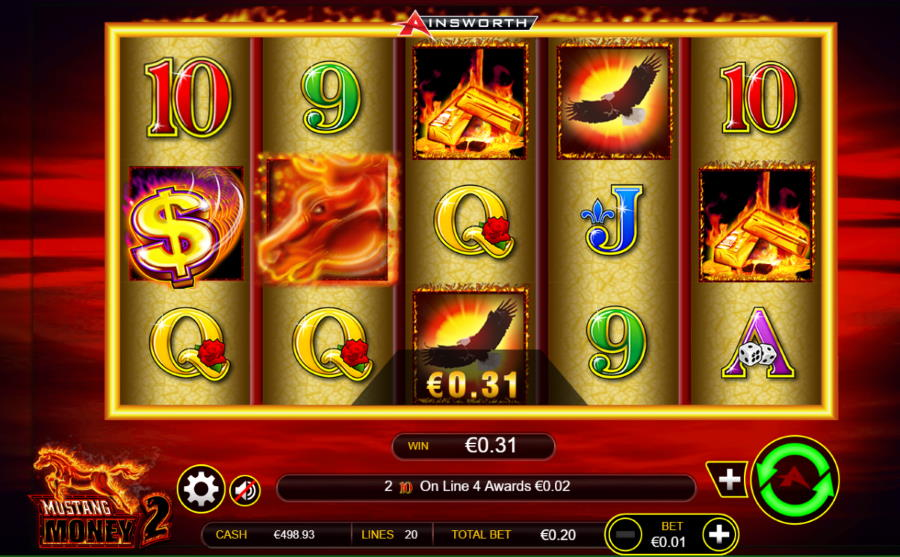 Mustang Money 2 Free Ainsworth Slot Game