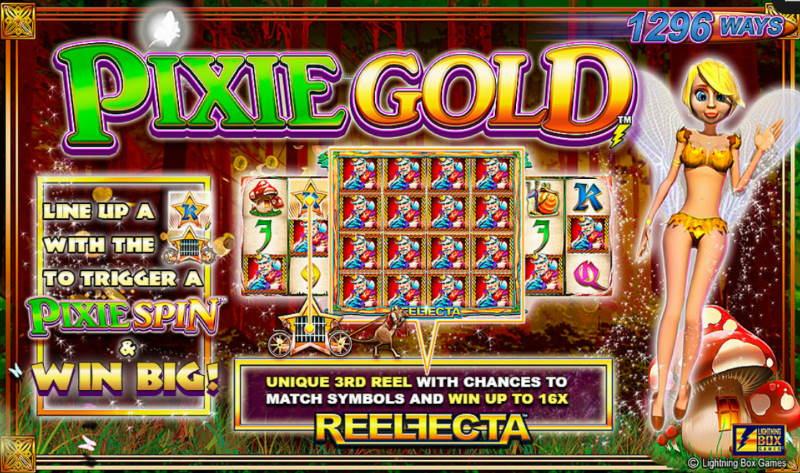 Free Pixie Gold Lightning Box Pokies Game