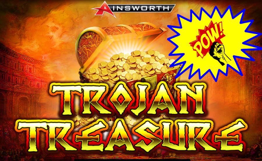 Trojan Treasure Ainsworth Free Pokies Game