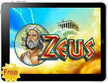 zeus free mobile pokies