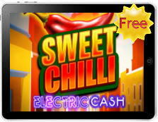 Sweet Chilli Electric Cash free mobile pokies