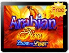 Arabian Fire free mobile pokies