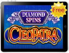 Cleopatra Diamond Spins free mobile pokies