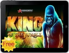 King of the jungle free iPad pokies