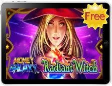 Radiant Witch Money Galaxy free mobile pokies