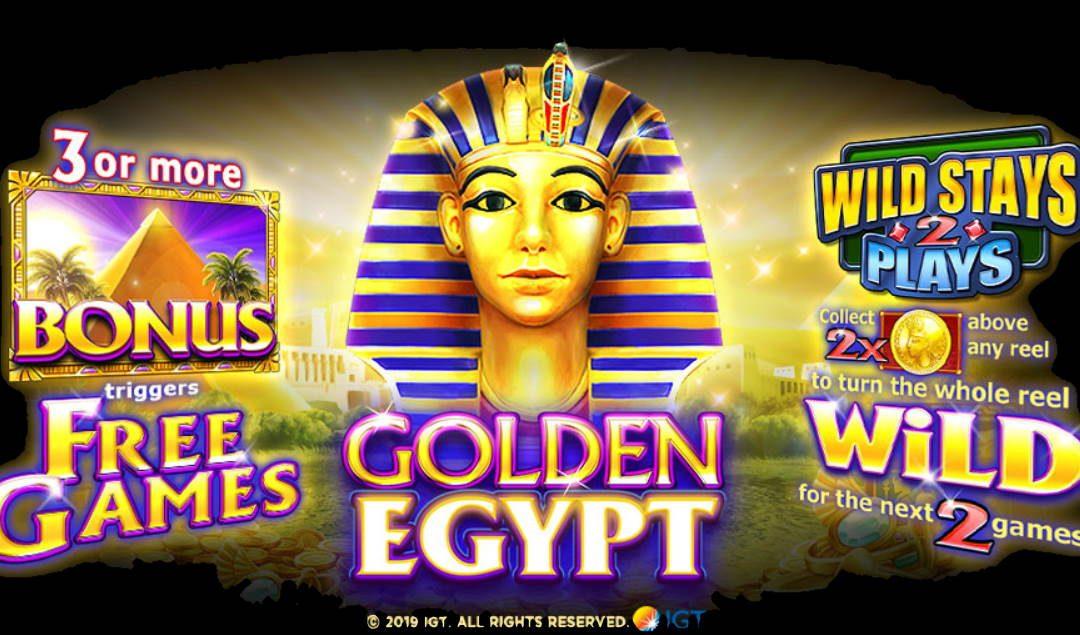 Golden Egypt Free IGT Slot Game Guide
